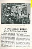 Un cappellificio italiano nella capitale del Chile.