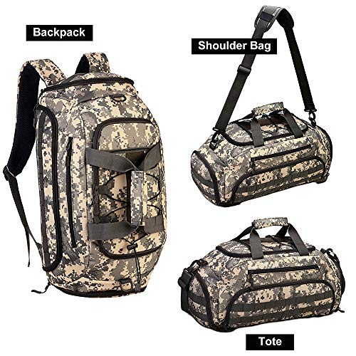 TnXan Military Travel Backpack Trekking Rucksacks Hiking Camping Backpack Trekking Rucksacks Hiking Backpack Crossbody Shoulder Bag Backpack Tote -