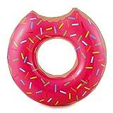 Summer Palms Jumbo Donut-Schwimmer, mattiert, 121,9 x 119,4 x 38,1 cm