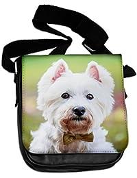 WESTY Highland White Terrier Animal Bolsa De Hombro 314