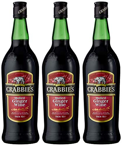 Crabbies Mulled Ginger Wine 70 cl (Case of 3)