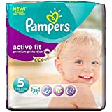 Pampers active Fit Taille 5 Junior 11-25kg (35) - Paquet de 2