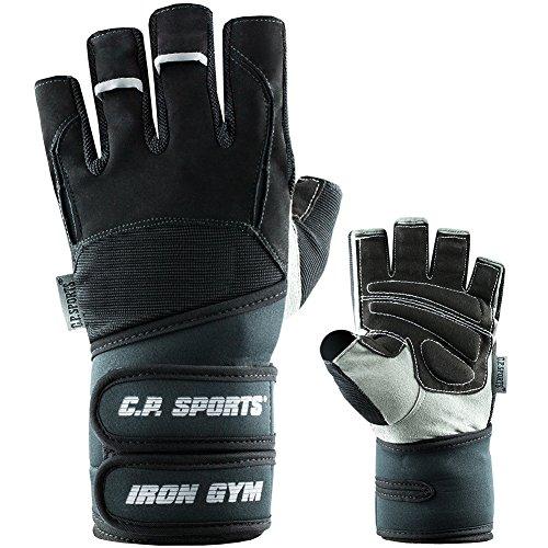 C.P. Sports Profi-Grip-Bandagen-Handschuh - farbig, ROSA, Fitness - Handschuh (M = 18-20cm)
