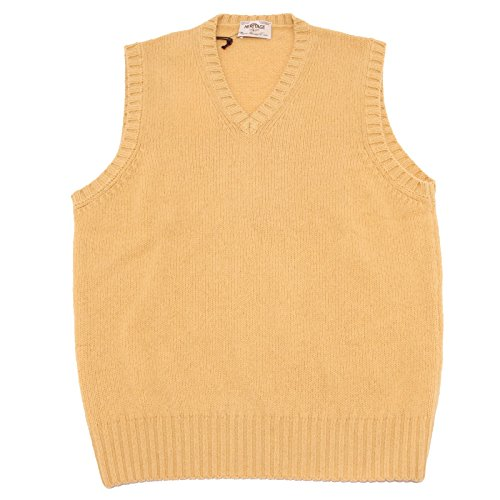 58626 smanicato HERITAGE maglione maglia uomo sleeveless sweater men [50]