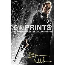 Bruce Willis Sin City Poster dédicacé autographe imprimé Cult Classic Style A