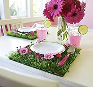 4 pcs party table decorations table decor flower placemat
