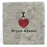 Best De Bryan Adams - I Love Bryan Adams–Mármol Azulejo posavasos de bebida Review