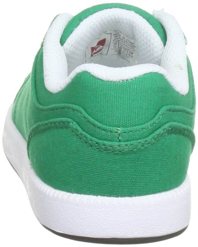 Quiksilver Little Area 5 Slim Cvs, Baskets mode garçons Vert (Green White Gum)