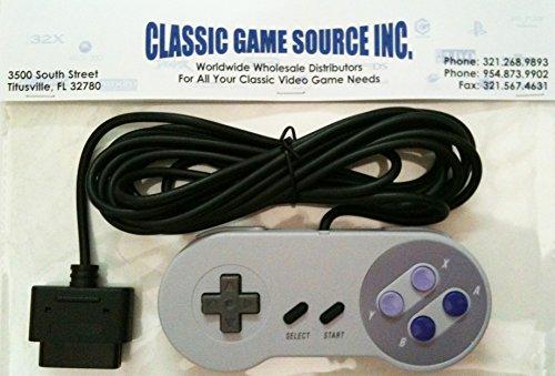 Ersatz-Controller mit 11Fuß Kordel für SNES Nintendo 16Bit System von Classic Game Source Inc