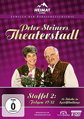 Peter Steiners Theaterstadl - Staffel 2: Folgen 17-32 (8 DVDs)