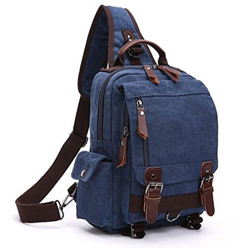Imagen de outreo bolso de pecho bolso vintage bandolera  bolsos de tela bolsas viaje hombre messenger bag para colegio escolares mujer bolsa