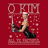 Cloud City 7 O Kim All Ye Faithful Kardashian Christmas Knit Men's Sweatshirt