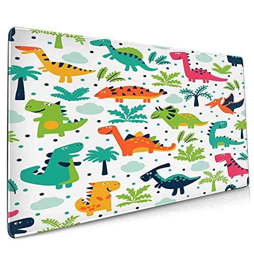 Tappetino per mouse da gioco dal design unico esteso, tappetino per mouse spesso spesso, comodo, impermeabile e pieghevole per...