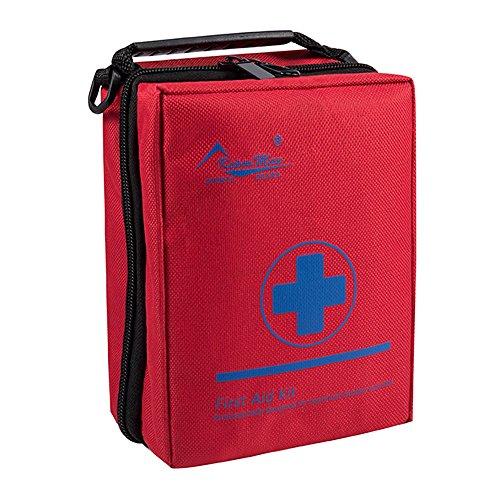 Premium Erste-hilfe-tape (KepooMan Erste-Hilfe-Set, geeignet für Reisen, Camping usw (Rot))