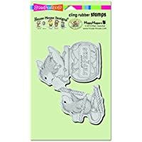 Woodware Craft Collection-Timbro aderente Stampendous House Mouse