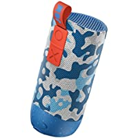 Jam Zero Chill Pairable Bluetooth Speaker, 30 Metre Range, Waterproof, 22 Hour Playtime, Dust Proof, Drop Proof IP67 Rating, Built In Speakerphone, Aux In Port, USB Charging - Camo preiswert