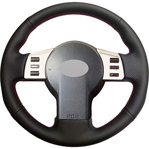 FANGPAN Kunstleder Auto Lenkradbezug, für Infiniti FX FX35 FX45 2003-2008, für Nissan 350Z 2003-2009 (Fx35 Infiniti 2003)