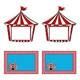 Untumble Food labels for Circus/Carnival...