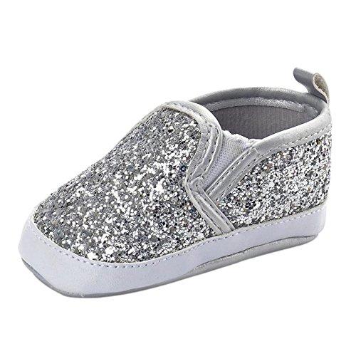 HCFKJ ReciéN Nacido NiñAs NiñOs Cuna Zapatos Suave Suela Antideslizante Zapatos De...