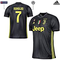 JUVENTUS Maglia Ronaldo Gara Third 2018 19 - Originale - Bambino - Patch  Scudetto e 0954c2cb9d7