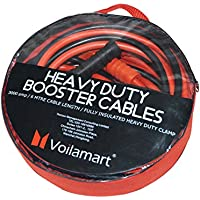 Voilamart Heavy Duty 3000AMP 6M Car Battery Jump Leads Booster Cables Jumper Cable for Petrol Diesel Car Van Truck (Includes Zipped Carry Bag with Handle)