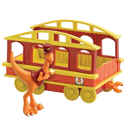 Dinosaur Train Conductor with Train Car
