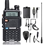 BaoFeng UV-5R Dual Band Two Way Radio with one more TID Battery Car