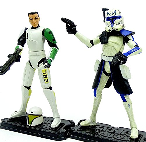 d Clone Trooper Hevy im Set - lose /ausgepackt - Star Wars The Clone Wars Collection von Hasbro (Rex Clone Wars)