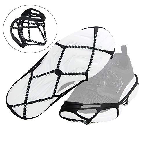 Shaddock Fishing SHADDOCK Angeln® Portable rutschfeste Anti-Rutsch Ice Greifer Snow Traction Klampen Einfache Spaziergänge auf Schnee und Eis, leichtes Design (Erfüllt durch Amazon)