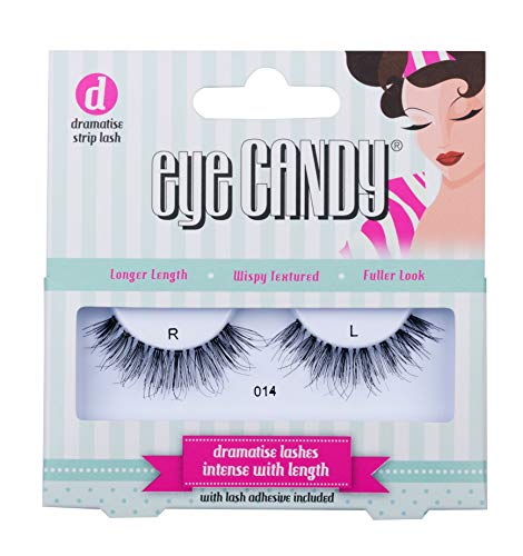 Eye Candy Strip Lashes 014 Volumise 50's Look Natural False Lashes (Eye Candy)