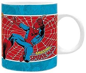 ABYstyle Naruto Marvel taza Media Spider-Man Vintage para Adultos, abymug330