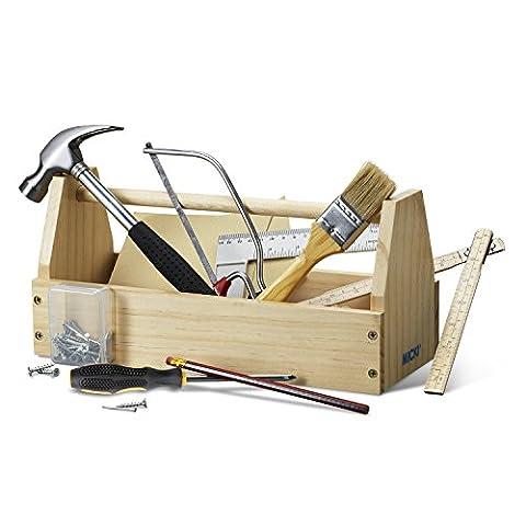 Micki 10.2147.00 - Holz-Werkzeugkasten