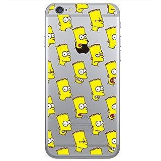 Abaure Schutzhülle Bart Simpson iPhone 6 / 6S Selfies