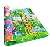 LGZOOT Outdoor Feuchtigkeit Klettermatte Baby Umweltschutz Puzzle Doppelseitig Spieldecke 180 * 200cm