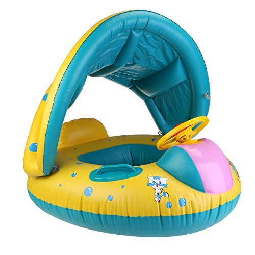 Baby Swim Ring gonflable bébé flotteur Enfants Piscine Eau siège de sécurité aide