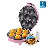 Aigostar Popcaker Pink 30CEU - Macchina per Cupcakes e Magdalene 700W Rosa. immagine