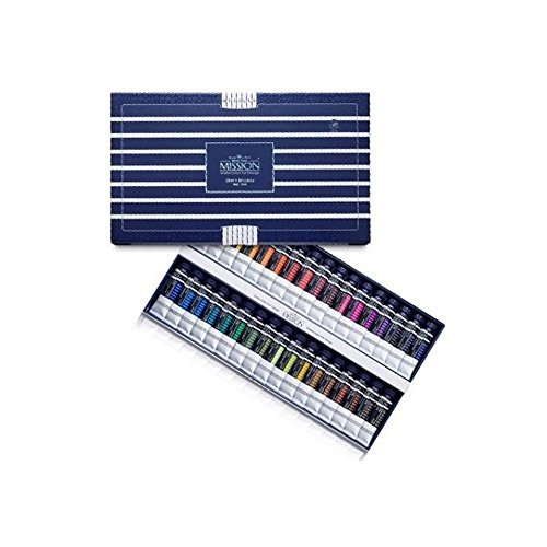 water-color-mission-white-class-watercolors-34pcs-15ml-by-mijello