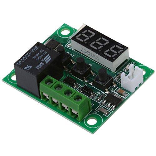 TOOGOO(R) DC 12V Temperatur Regler Thermostat Thermo Temperaturschalter Sensor -50-110¡ãC (Ac Thermostat)
