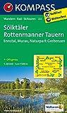 Sölktäler - Rottenmanner Tauern - Ennstal - Murau - Naturpark Grebenzen: Wanderkarte mit Radrouten und Skitouren. GPS-genau. 1:50000 (KOMPASS-Wanderkarten, Band 222)