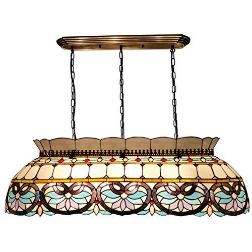 Lámpara de araña de estilo Tiffany, luces colgantes creativas de ...