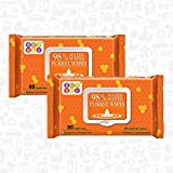 #8: Bey Bee Hypoallergenic Baby Water Wipes For New Born Babies Sensitive Skin - 2 Pack 160 Water Wet Wipes Baby