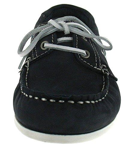Tamaris 1–23618–24 fond schnürhalbschuh chaussures casual femme Bleu - Bleu