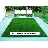 RAJ MAHAL Grass Carpet Mat (Green, Plastic, 4 x 5 FT)