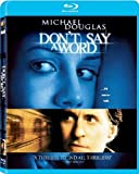 Don't say a word [Blu-ray] [IT Import] - Anthony Peckham