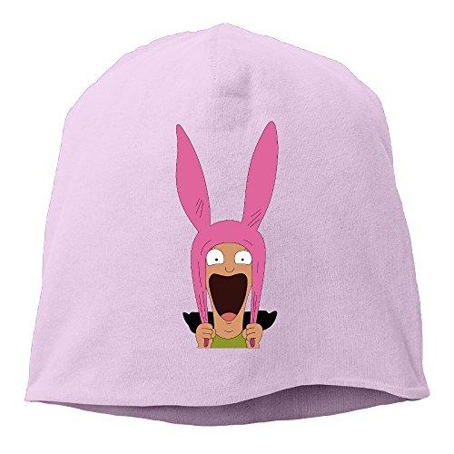 minloo L da uomo e da donna designname cenere joggingcap lavorato a maglia per autunno e inverno Pink Taglia unica