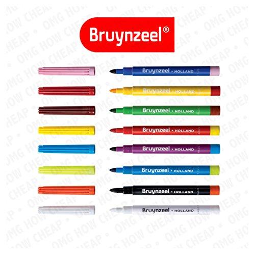 bruynzeel-8-magic-felt-tip-markers