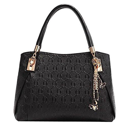 369f6fe37f Coofit Le donne annata della borsa del cuoio del sacchetto di spalla del  Tote della cartella ...