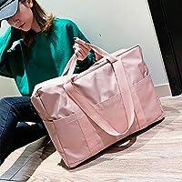Ocio Tela Oxford Hombro Bolsa de Viaje Bolso Deportivo (Color: Gris),ChenYanDong (Color : Pink)