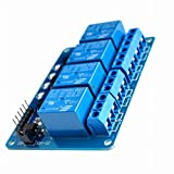#2: Four 4 Channel Relay Module DC 5V With Optocoupler For Arduino PIC ARM AVR DSP