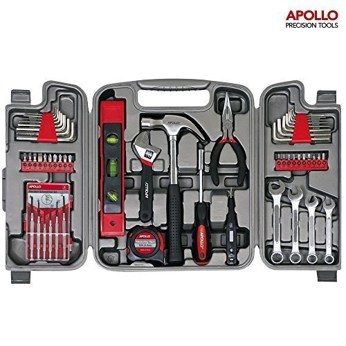 apollo-53-piece-household-tool-set-including-metric-wrenches-precision-screwdrivers-set-and-most-rea